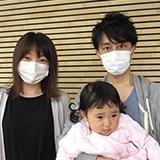 札幌在住のパパ、ママ、あさちゃん(1歳11ヶ月)